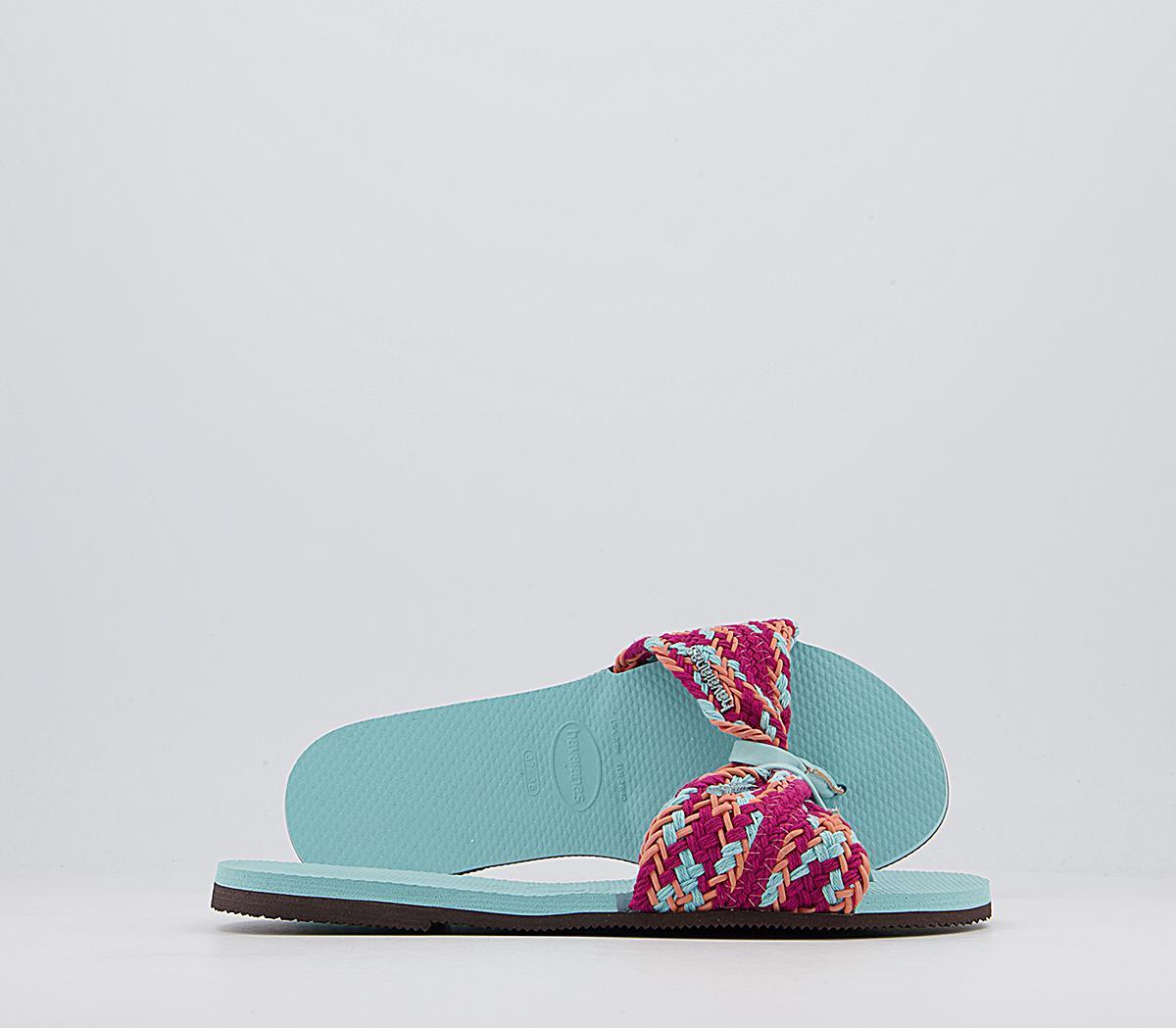 You St Tropez Mesh Flip Flops