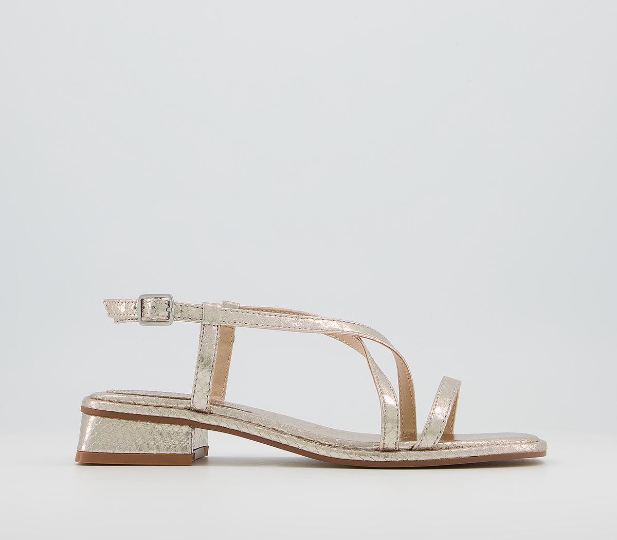 Slightly Strappy Sandals