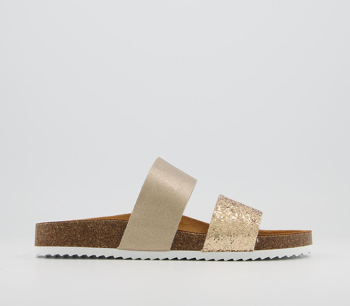 Swift Double Strap Footbed Sandals