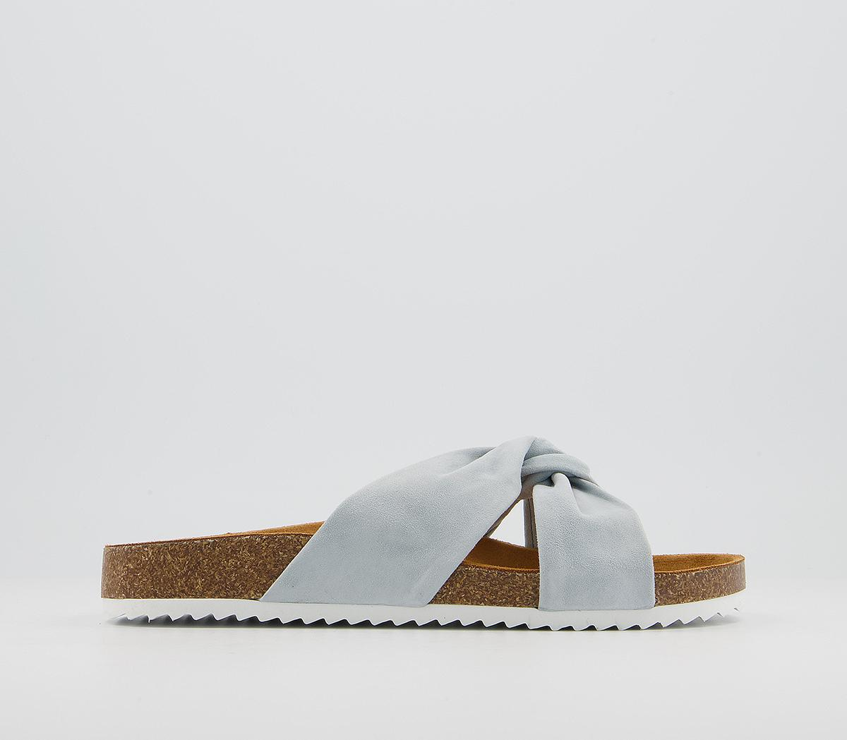 Sustain Twisted Footbed Sandals