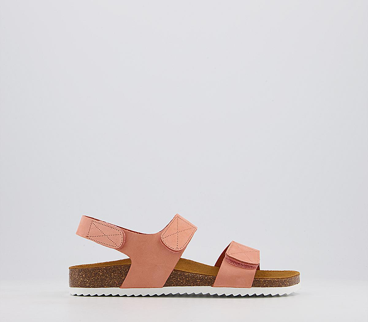 Serpent Double Strap Sling Footbed Sandals