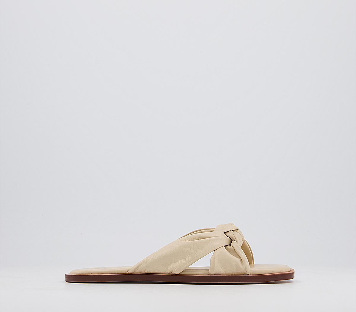 Stassy Soft Tubular Mule Sandals