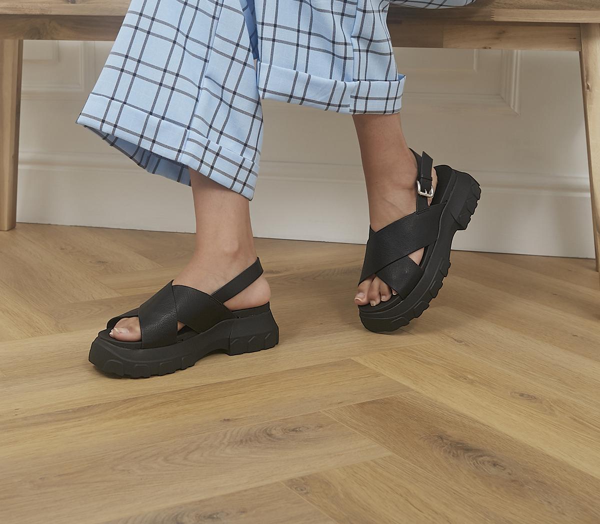 Sweet Pea Sporty Cross Strap Sandals