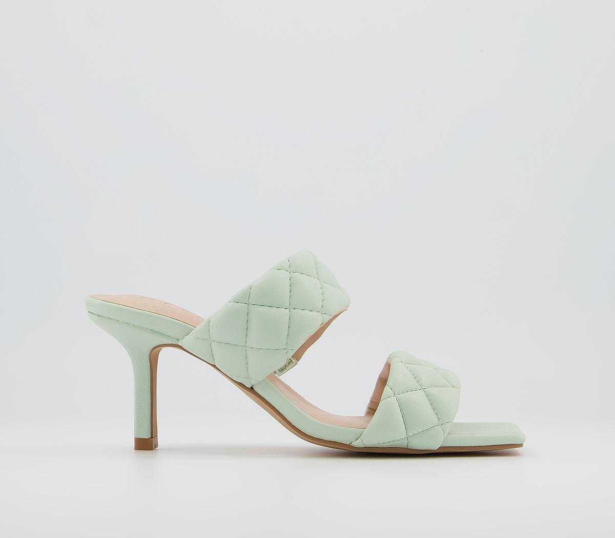 Madina Quilted Mules