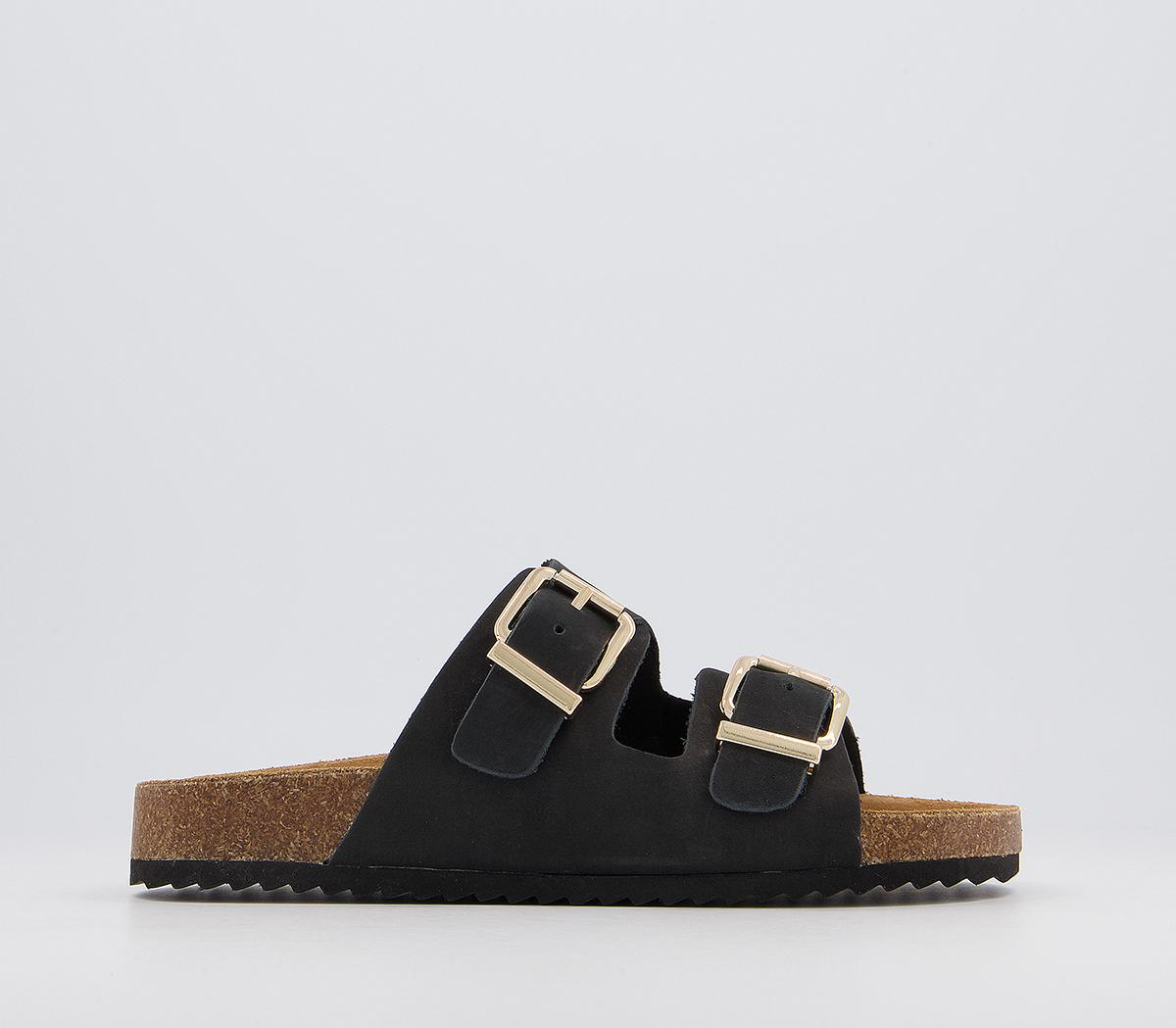 Salzburg Double Buckle Footbed Sandals