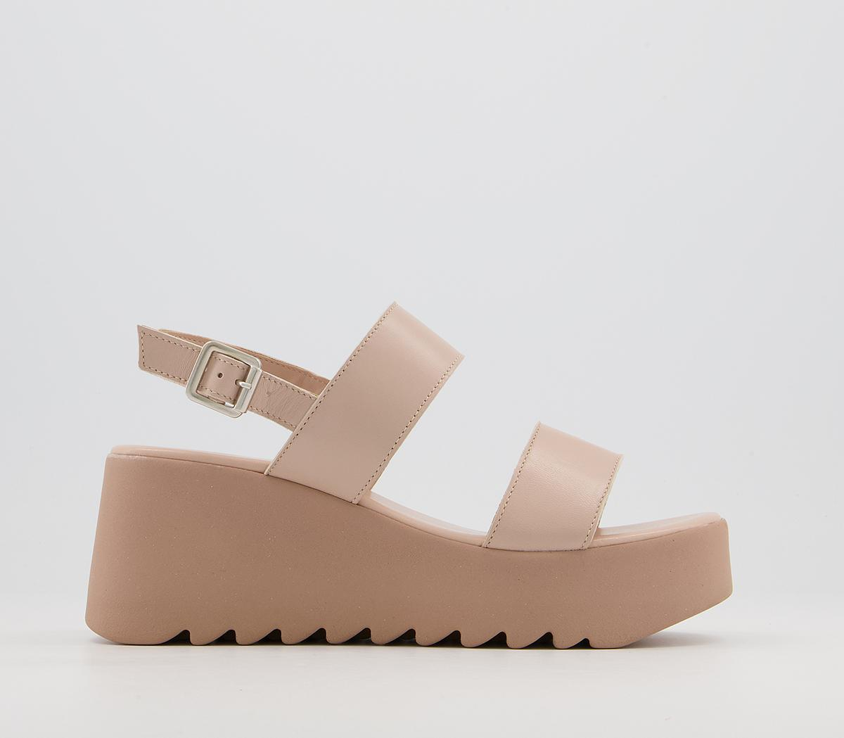 Mali Two Part Wedge Sandals