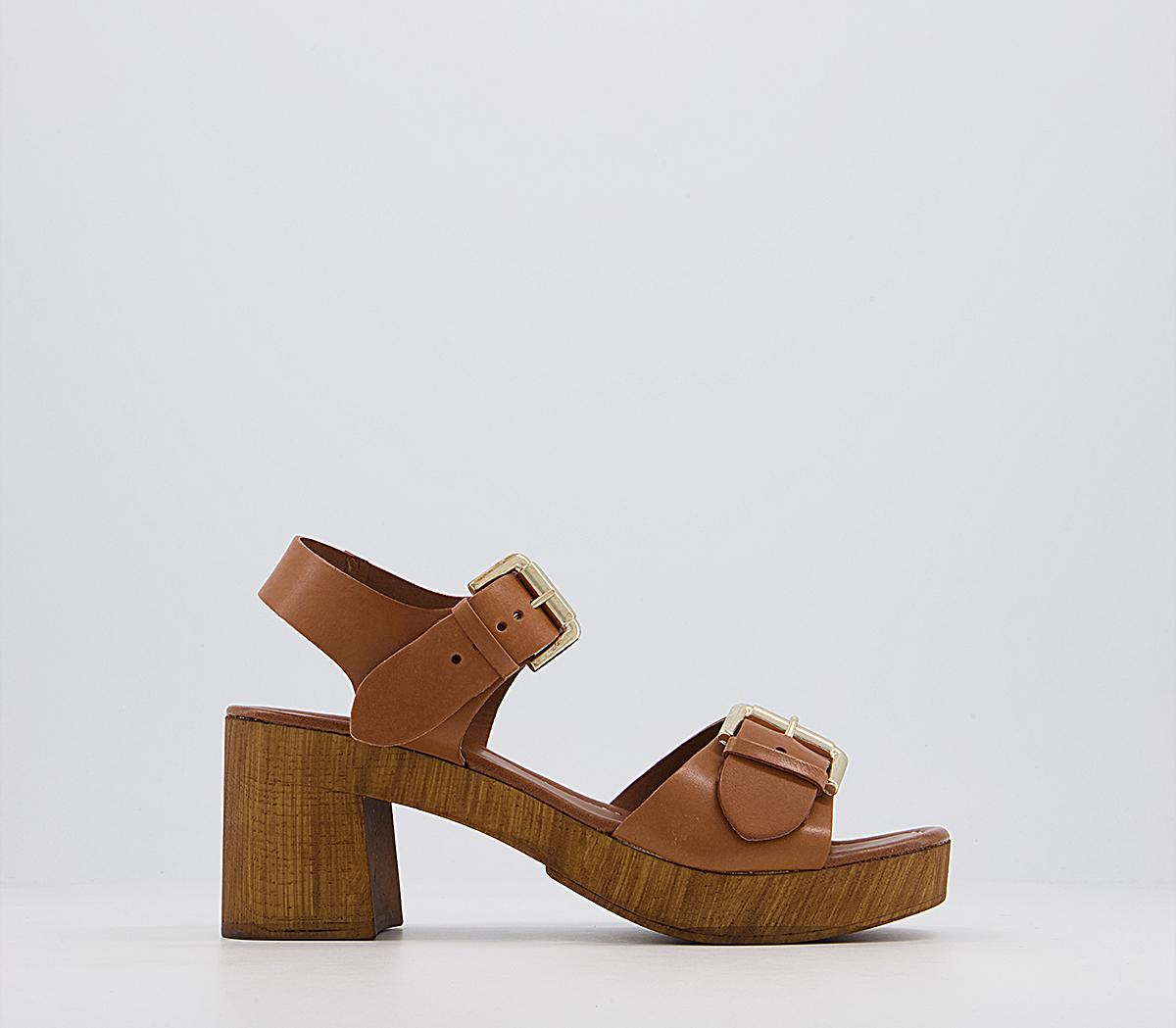 Malaysia Two Part Wood Heels