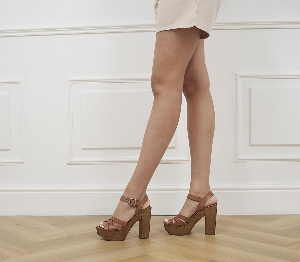 Hesse Wood Block Heel Sandals