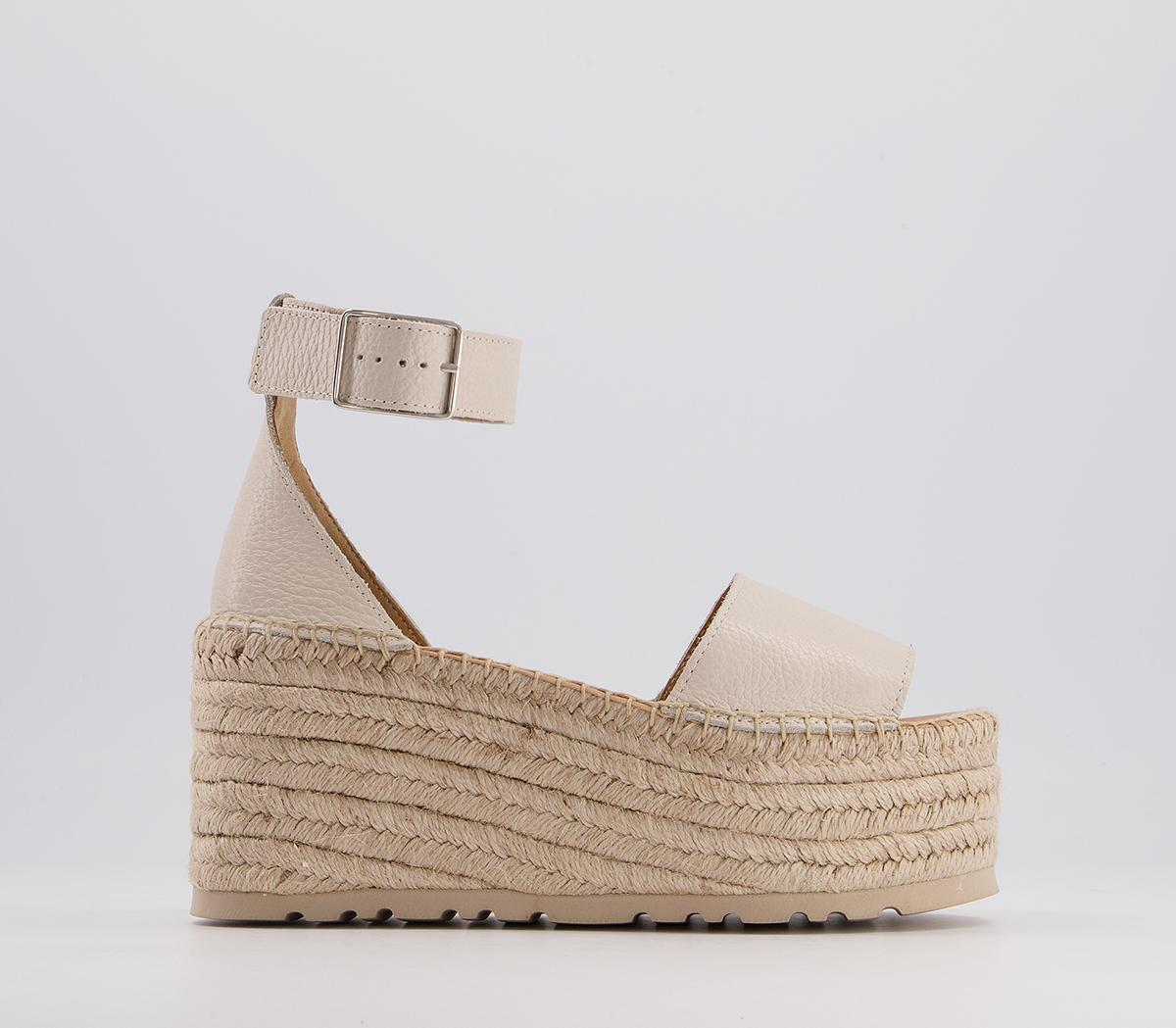 Hare Two Part Espadrille Flatforms