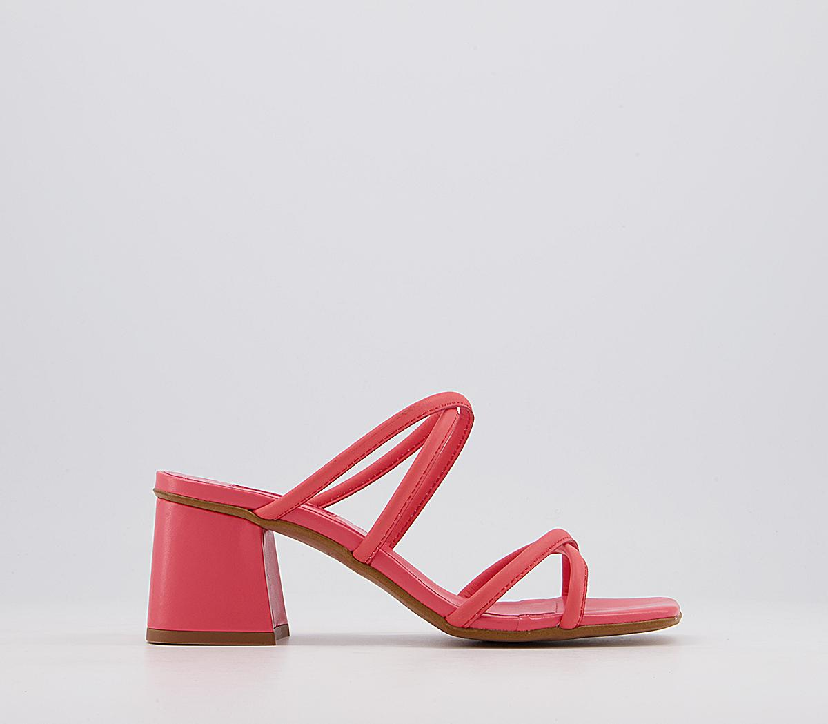 Merrybell Strappy Block Mules