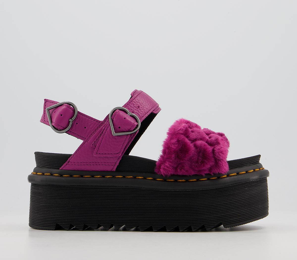 Voss Quad Fluffy Sandals