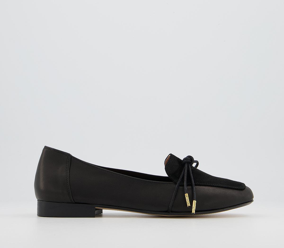 Flashlight Slim Bow Loafers