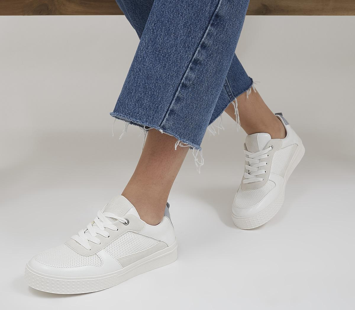 Forwards Textured Sole Lace Up Trainers