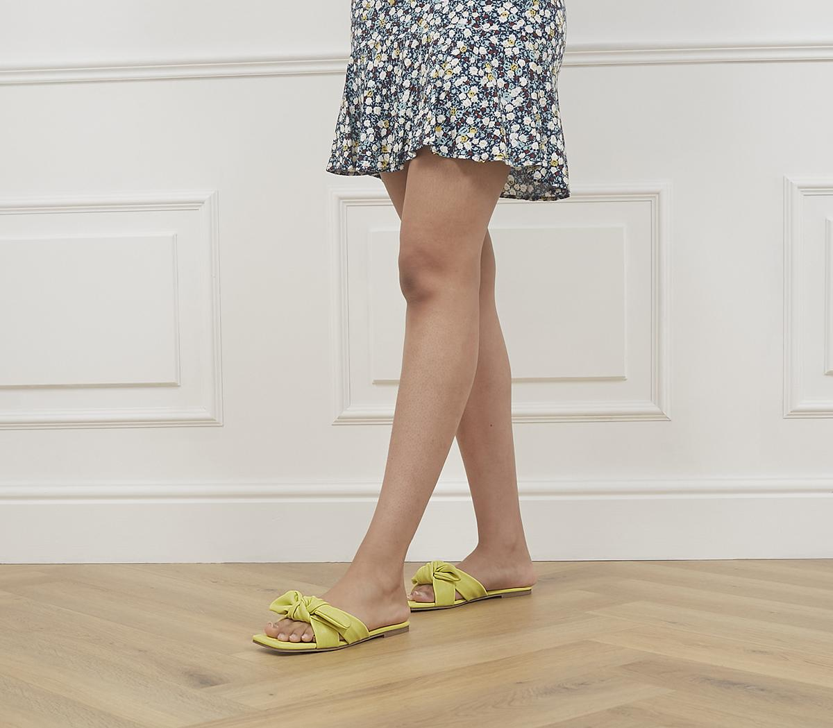 Stories Square Toe Bow Mules