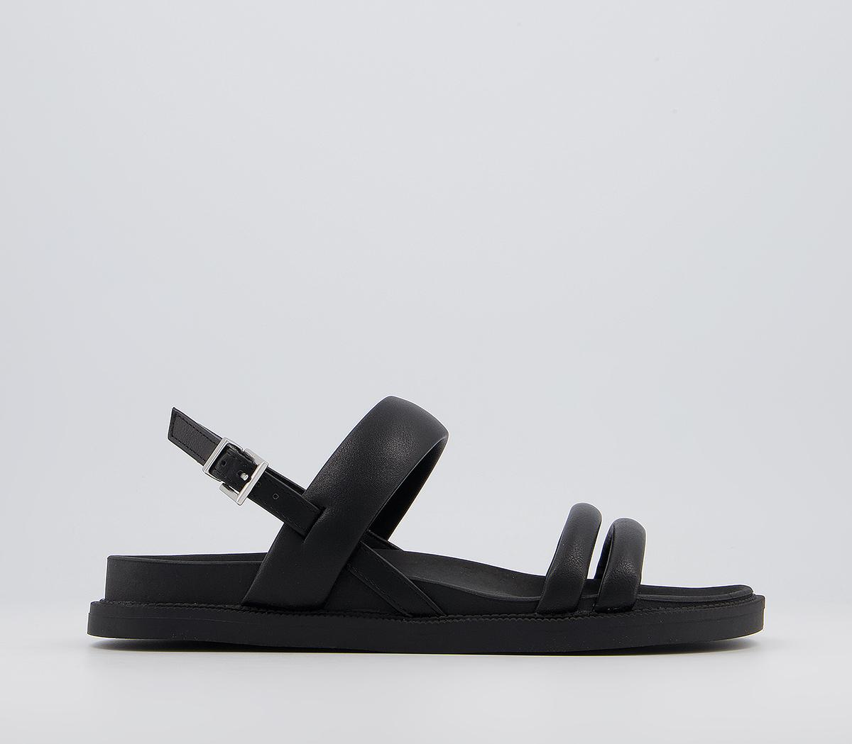 Skinny Two Part Footbed Sandals