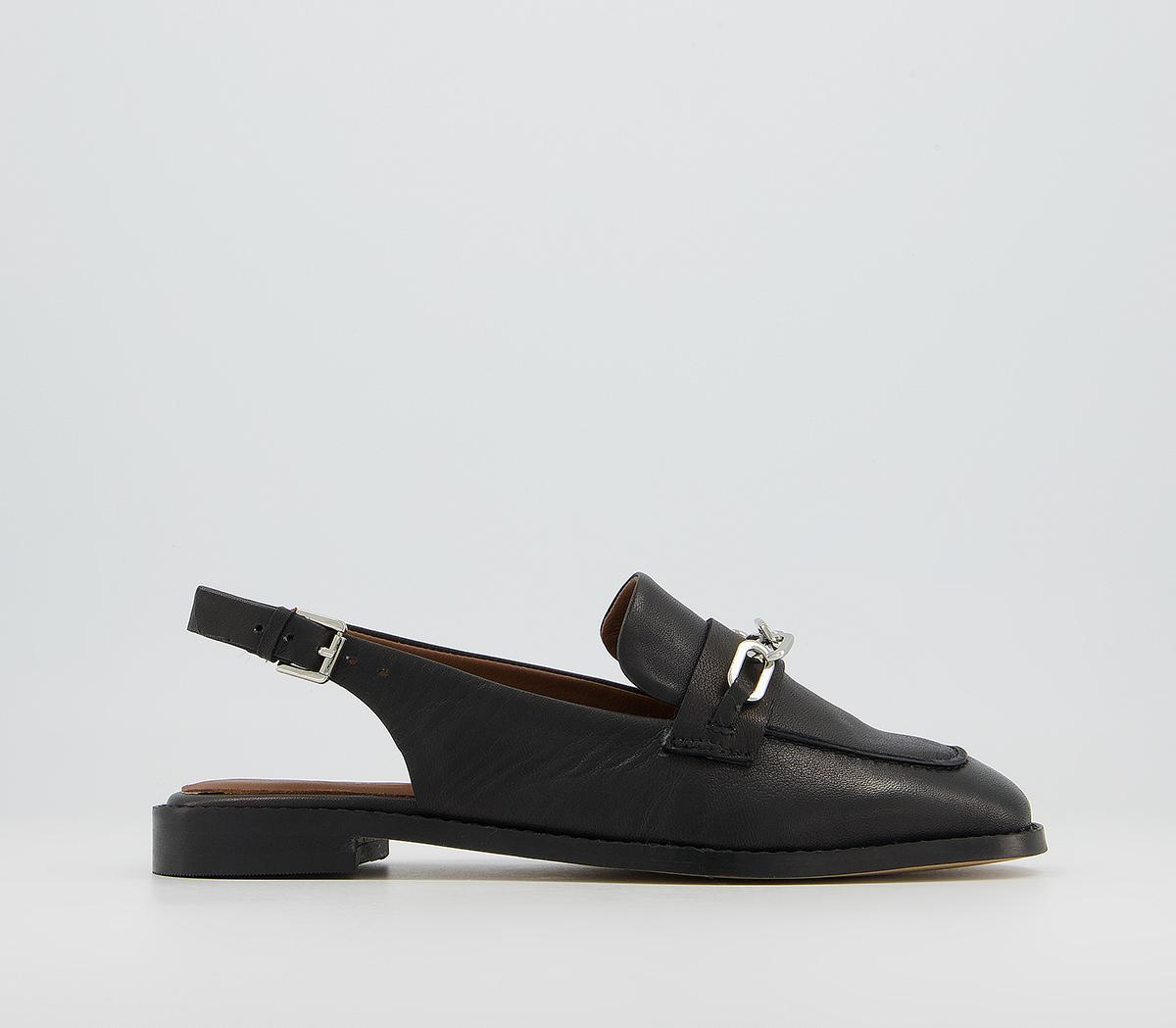 Fairen Sling Back With Hardware Loafers