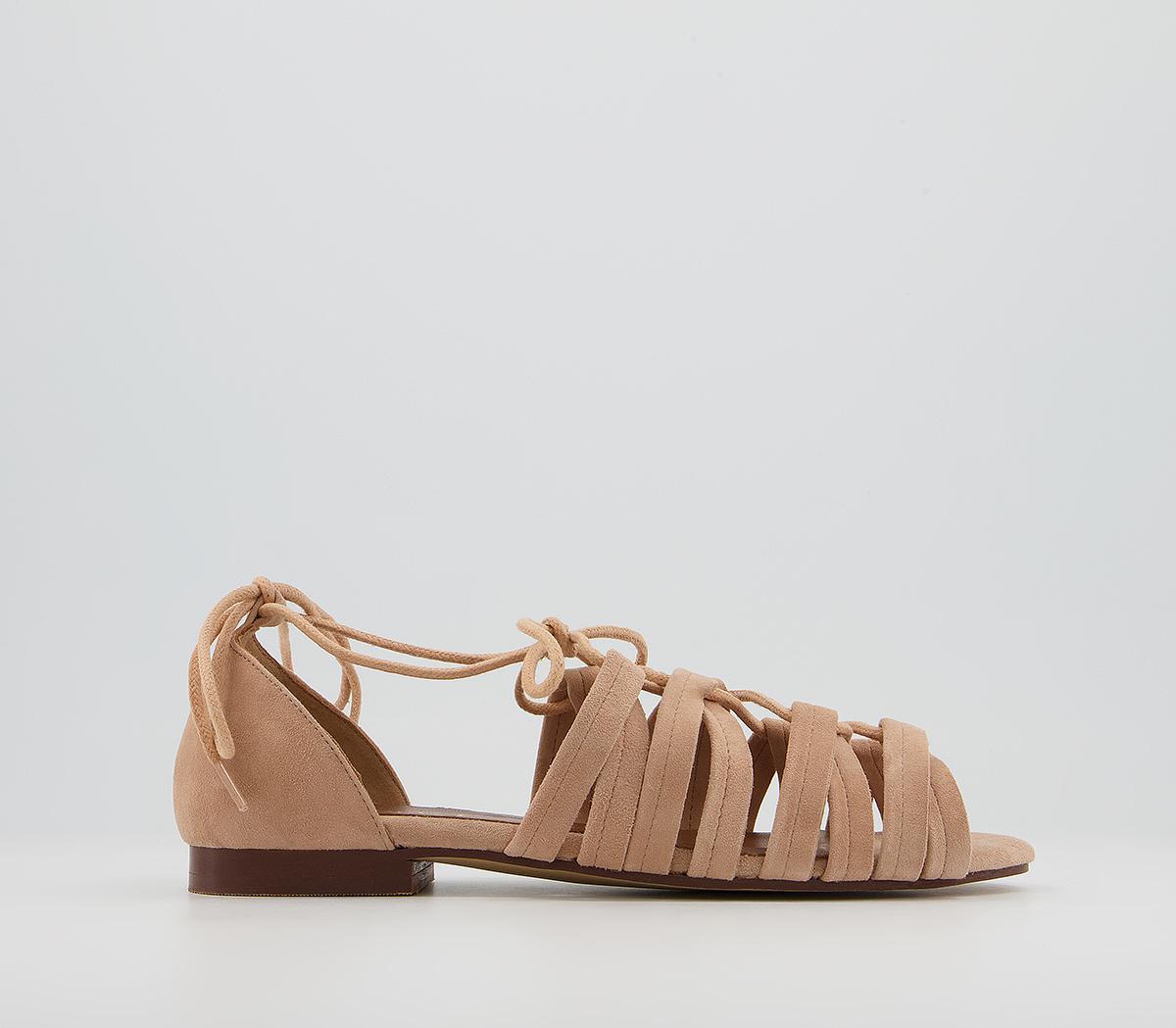 Saara Tie Up Sandals