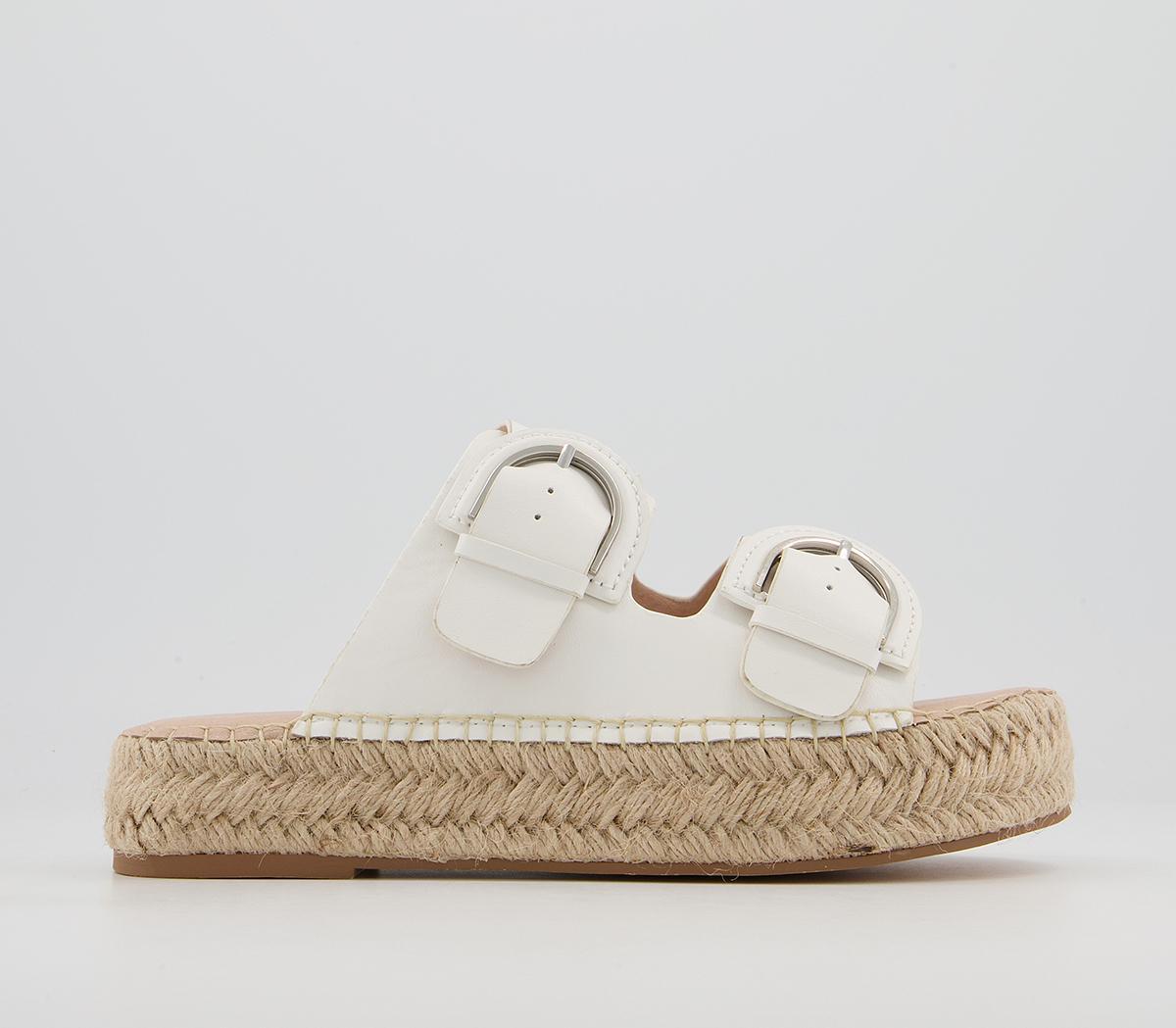 Shiloh Double Buckle Espadrille Sandals