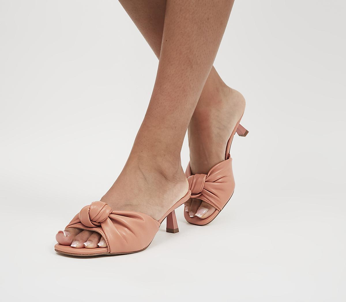 Makeover Knot Mules