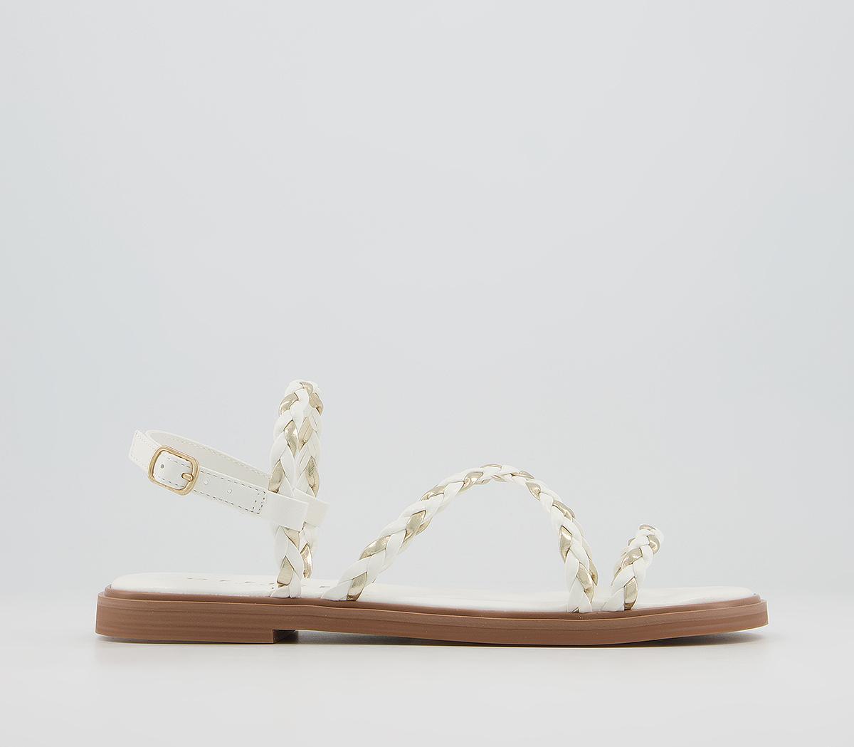 Shakira Plaited Chain Sandals