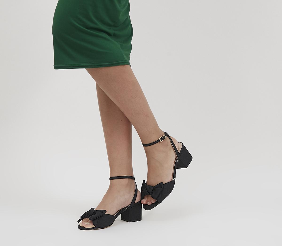 Maybe-baby Bow Block Heels