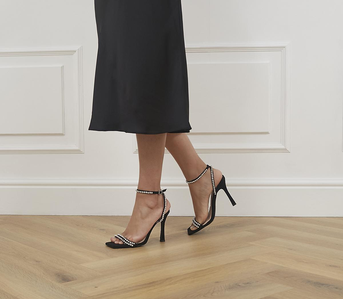 Herself Embellished Stiletto Heels