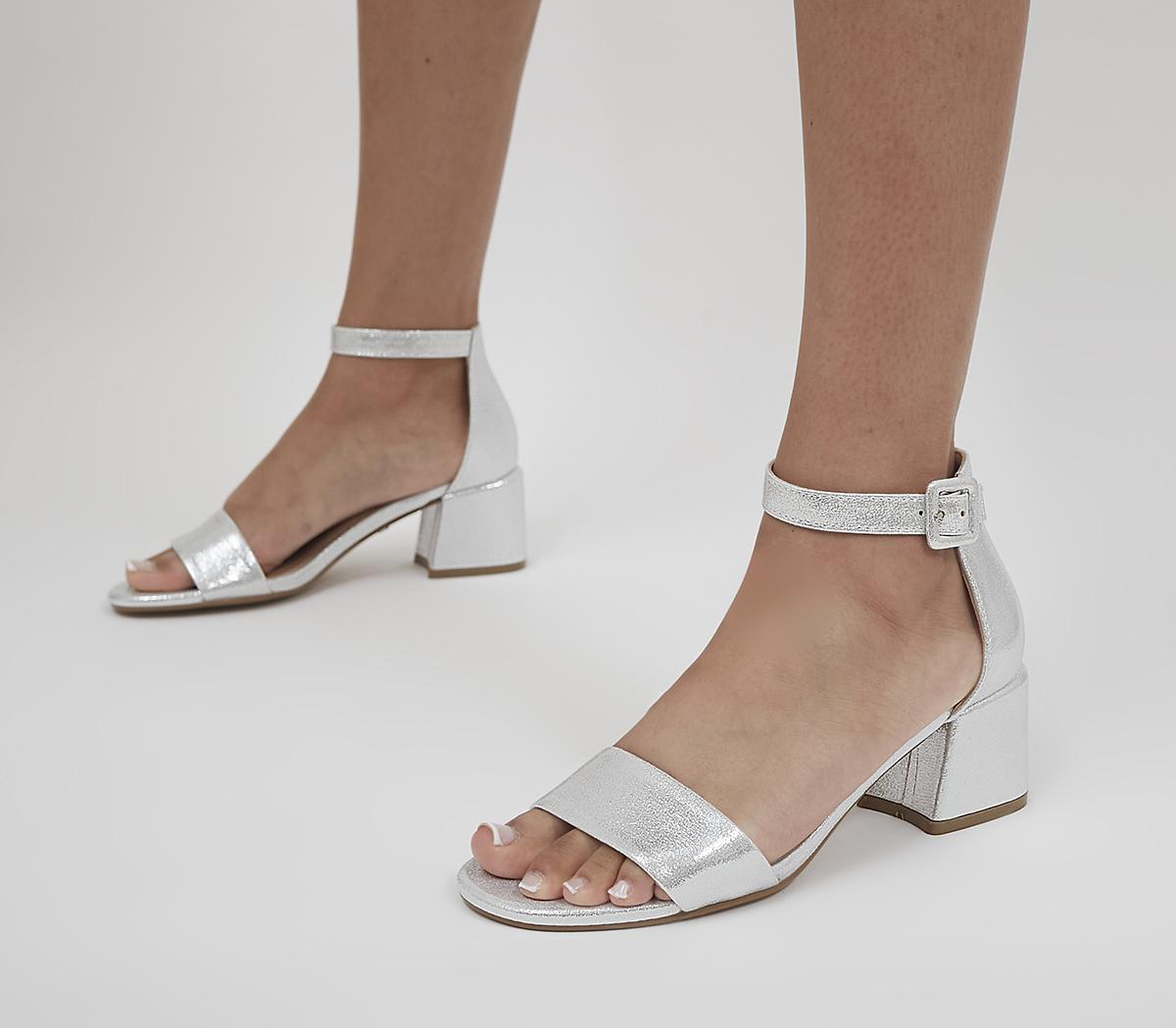 Minimum Effort Two Part Low Block Heels