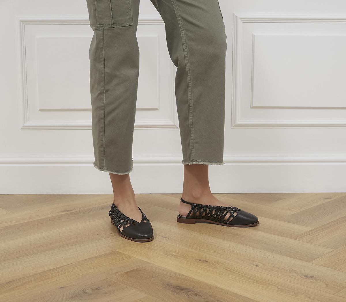 Fazerina Woven Flat Shoes
