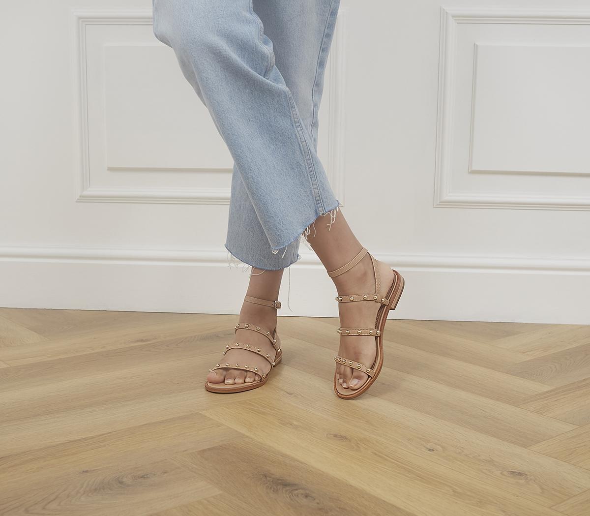Sanna Slim Strap Gladiator Sandals