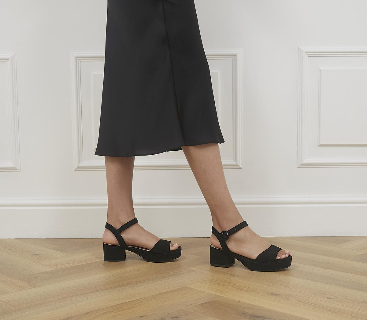 Marble Arch Two Part Low Block Heels
