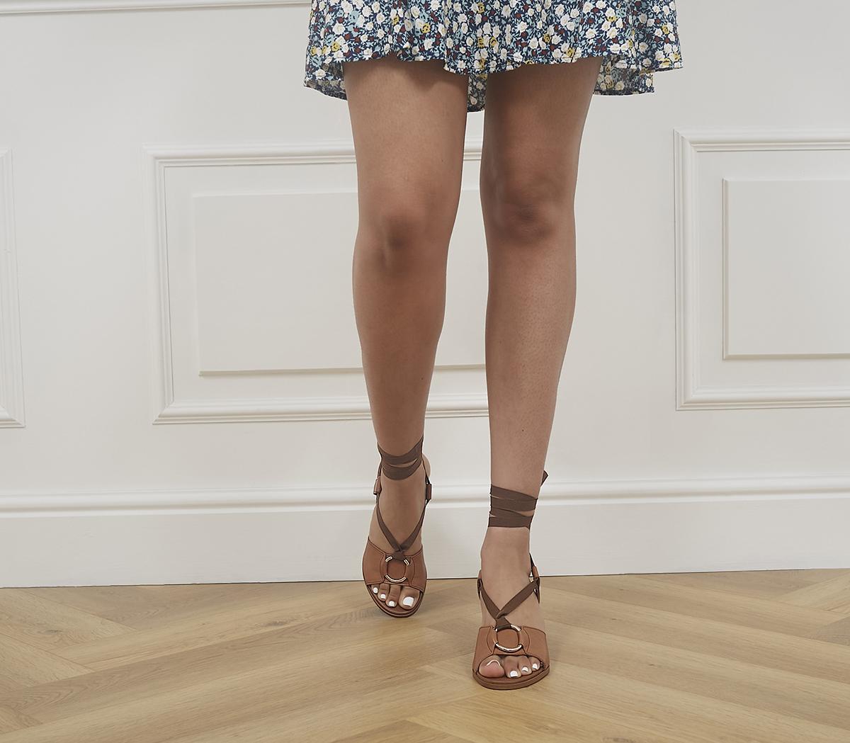 Manya Ring Detail Sandals