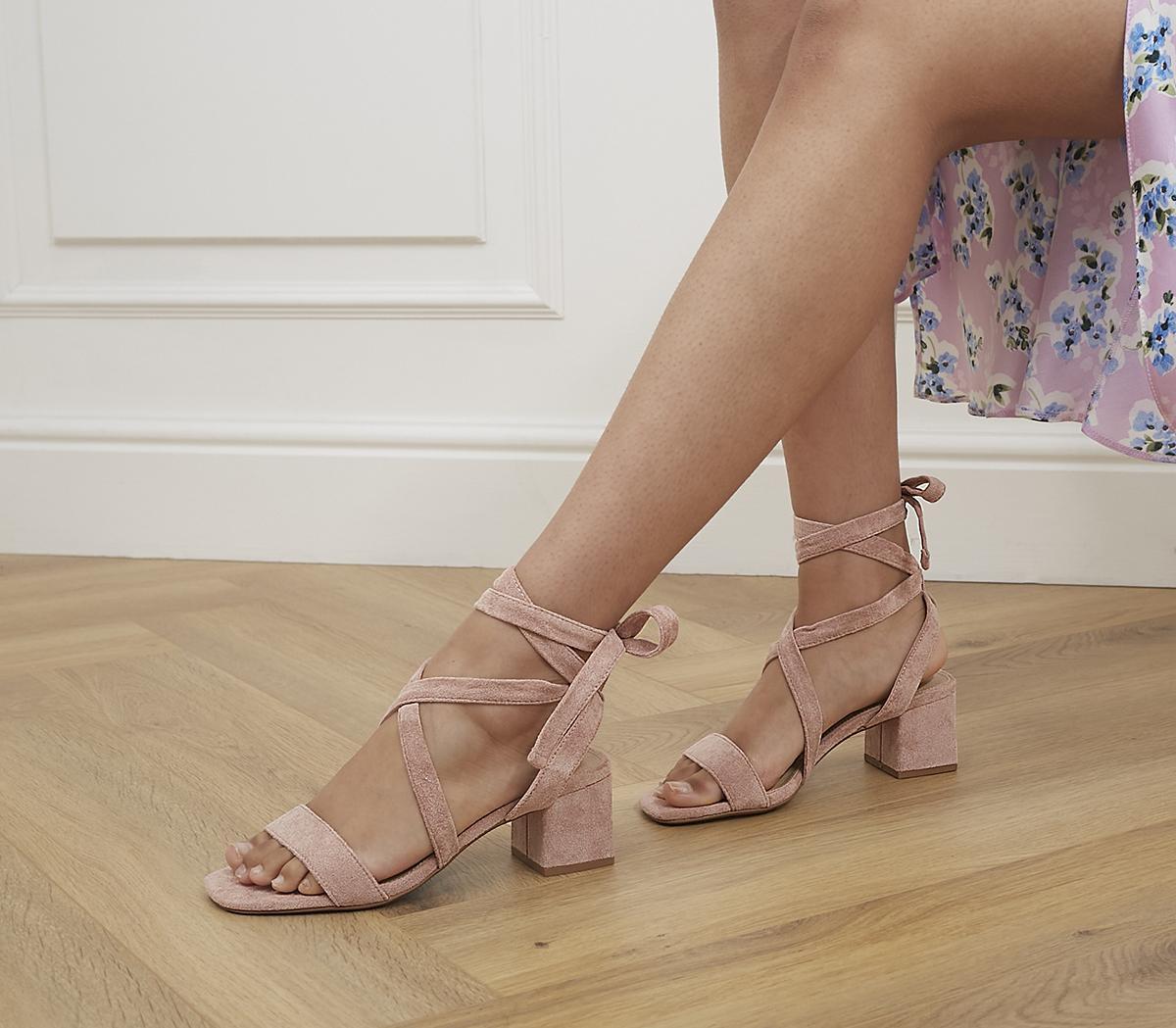 Malindi Soft Tie Block Heels