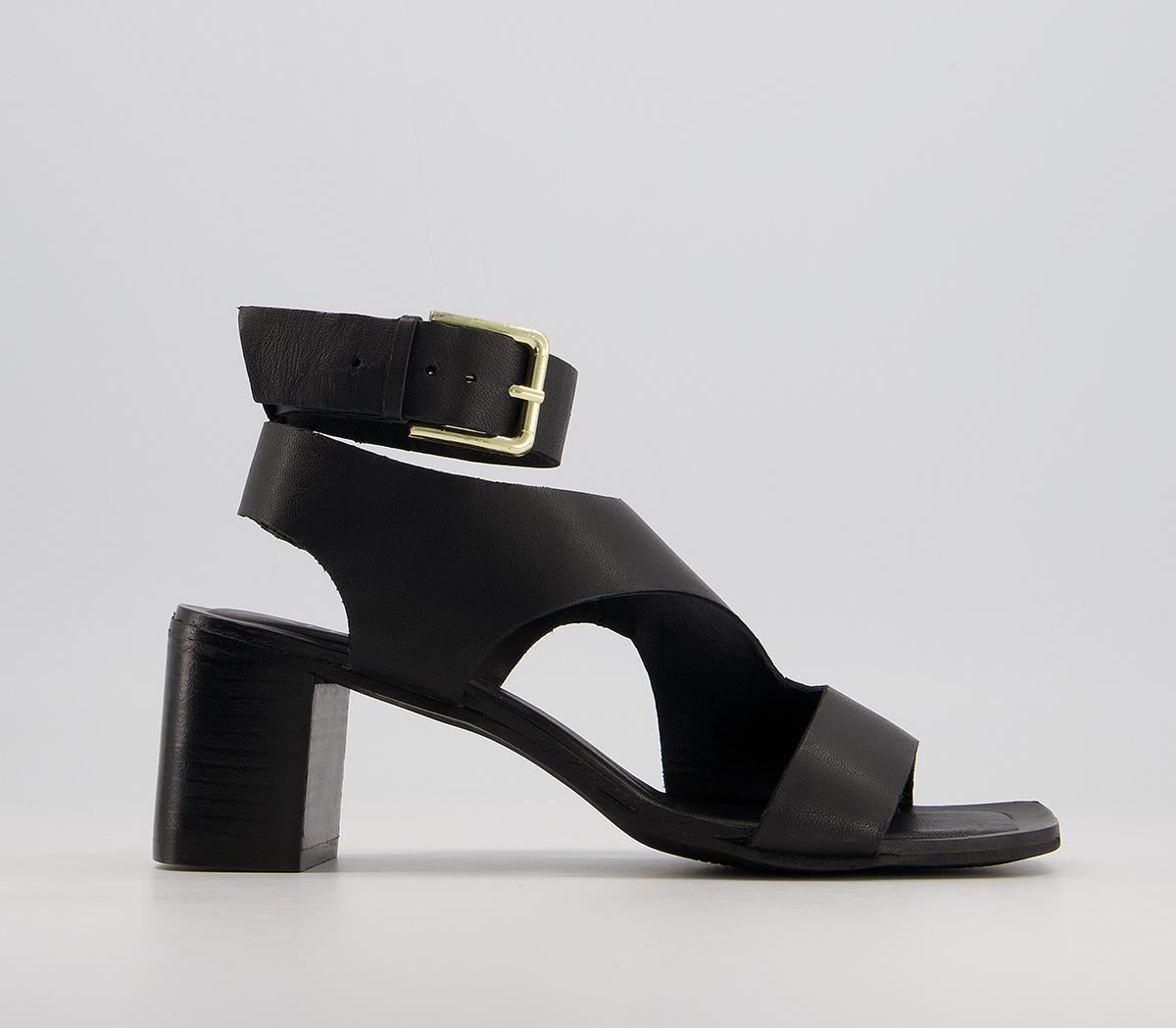 Manisa Smart Block Heel Sandals