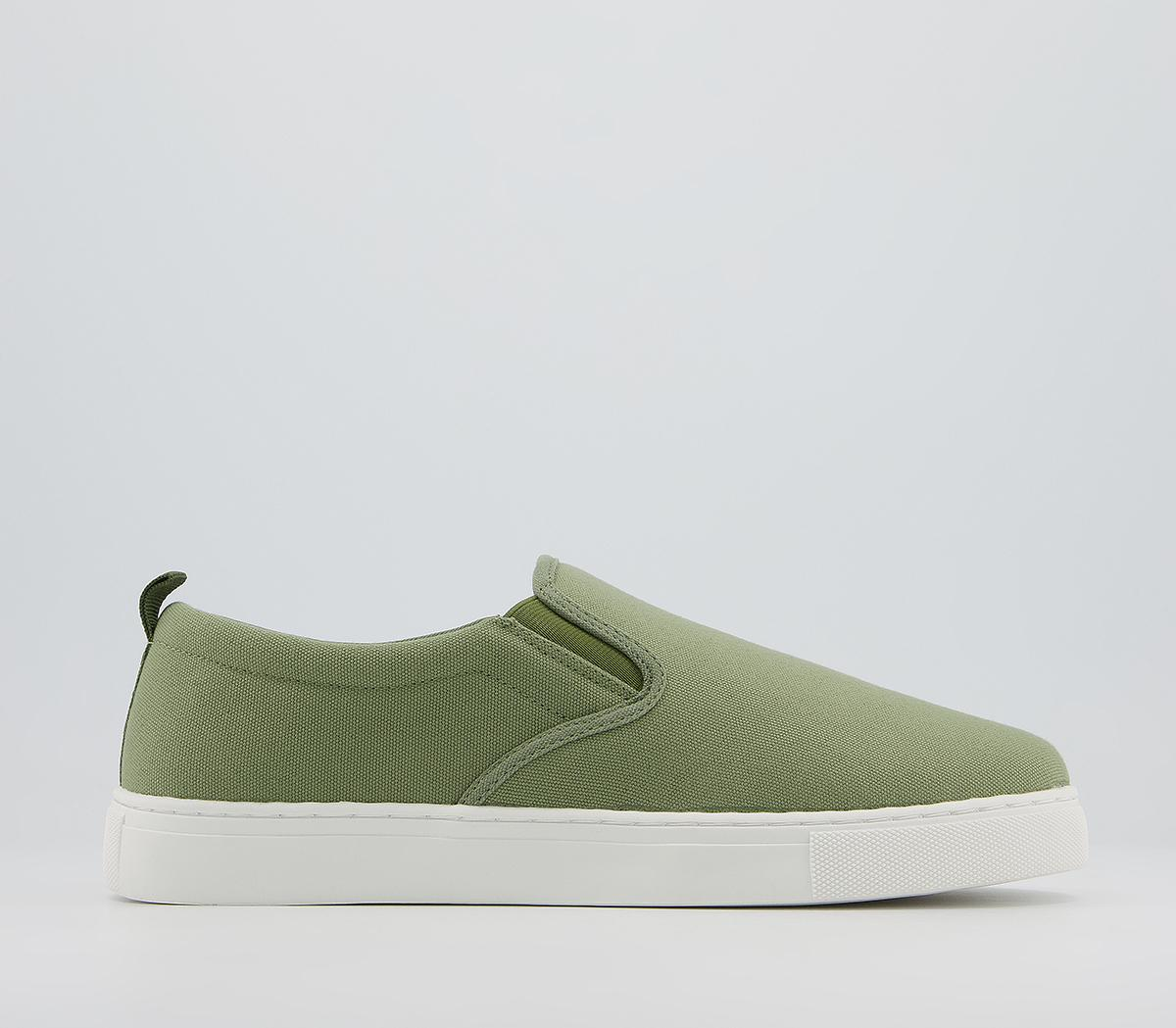 Cane Canvas Trainers