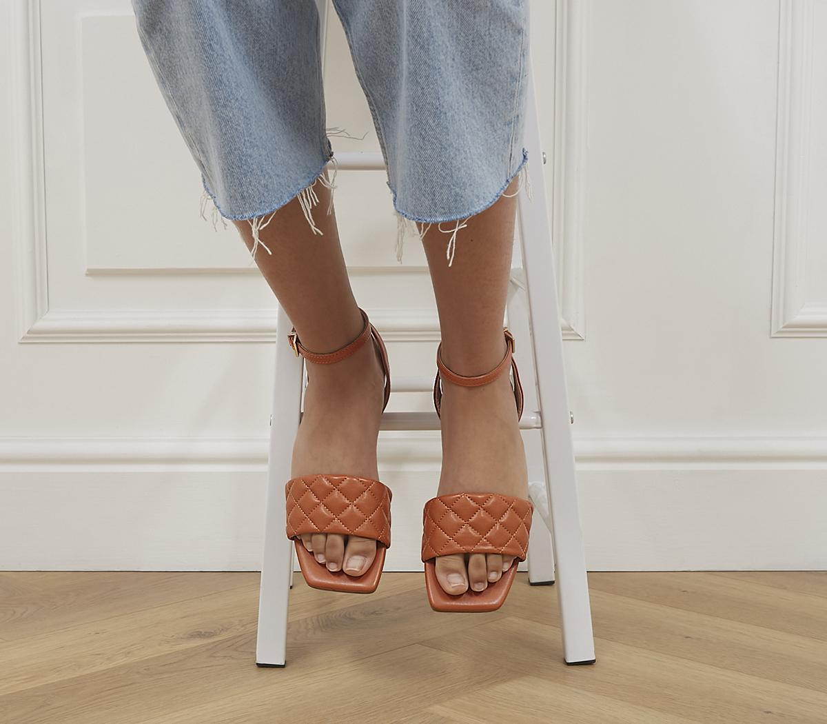 Shadow Ankle Strap Sandals
