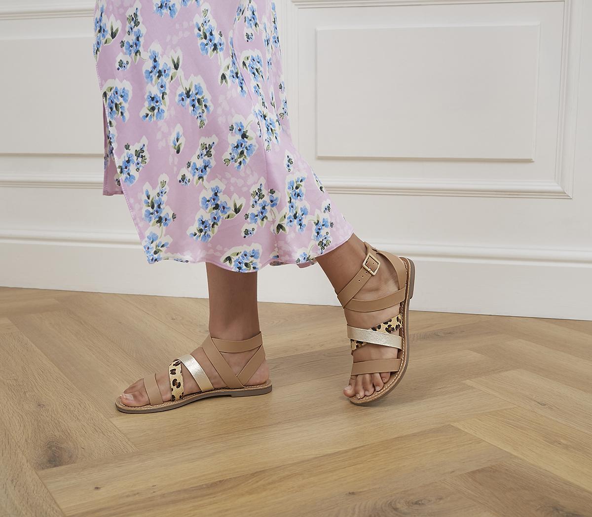 Salute Multi Strap Sandals
