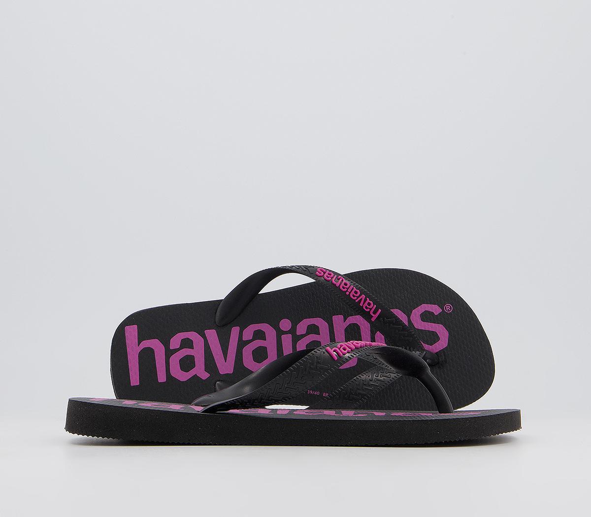 Top Logomania Flip Flops