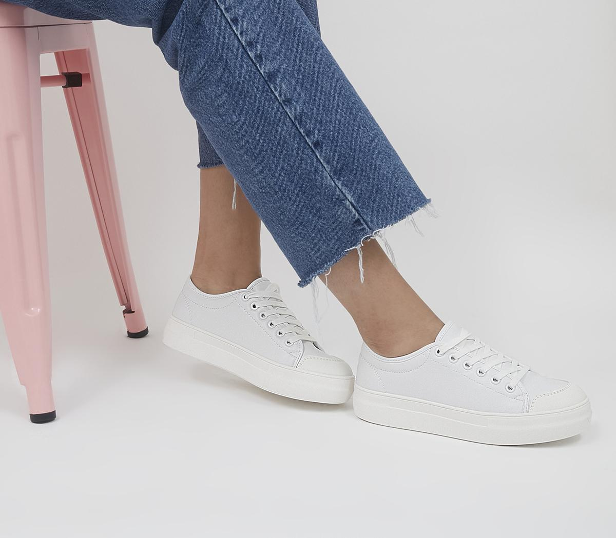 Fascinated Chunky Sole Lace Up Trainers