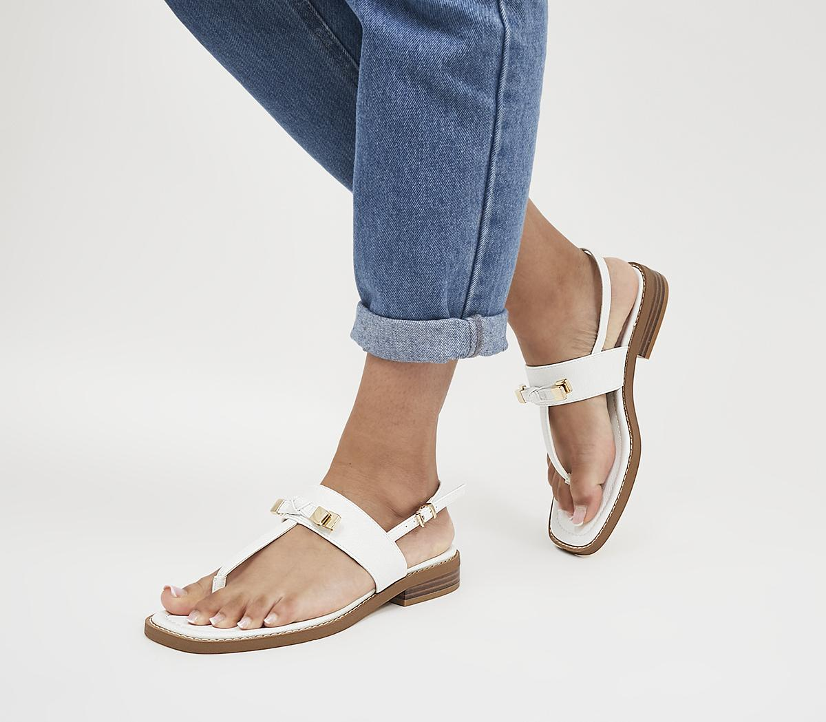 Sultry T-Bar Bow Detail Sandals