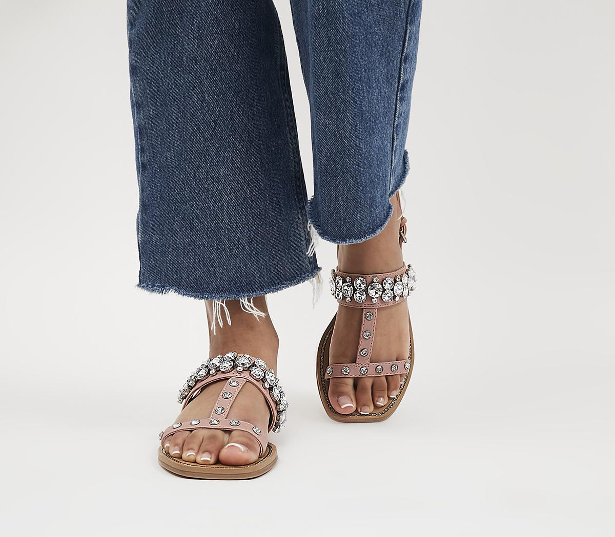 Seemly Two Part T-Bar Sandals