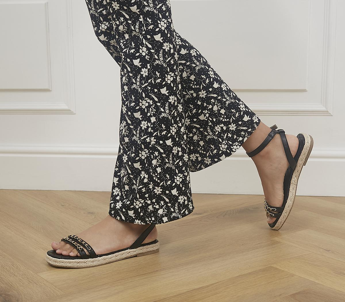 Selective Two Part Espadrille Sandals