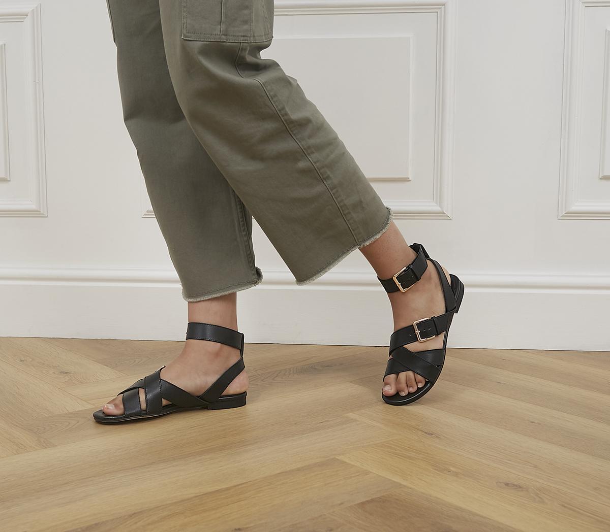 Superior Ankle Strap Sandals