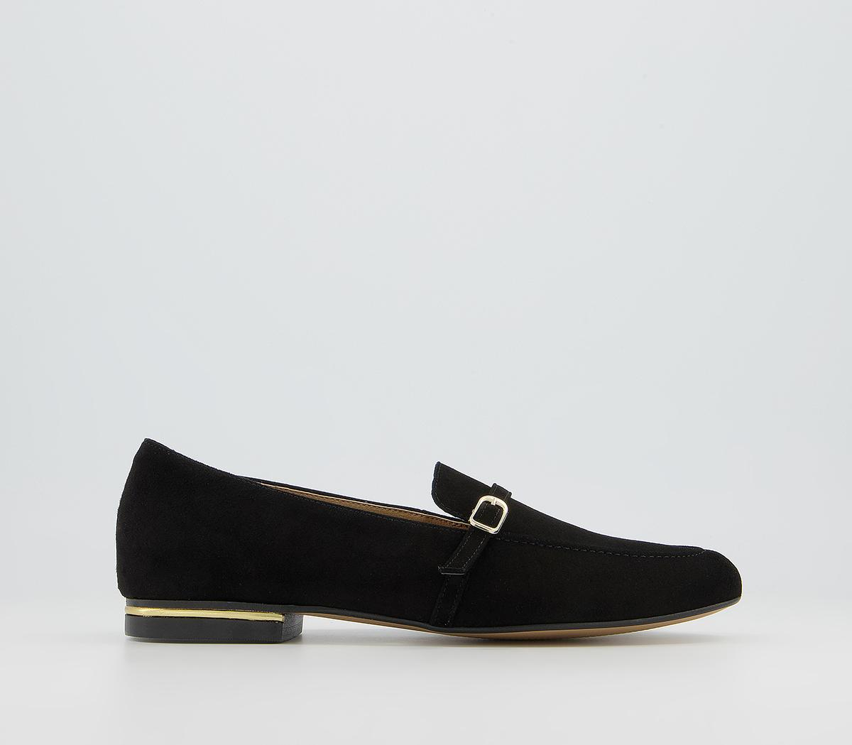 Factual Buckle Loafers