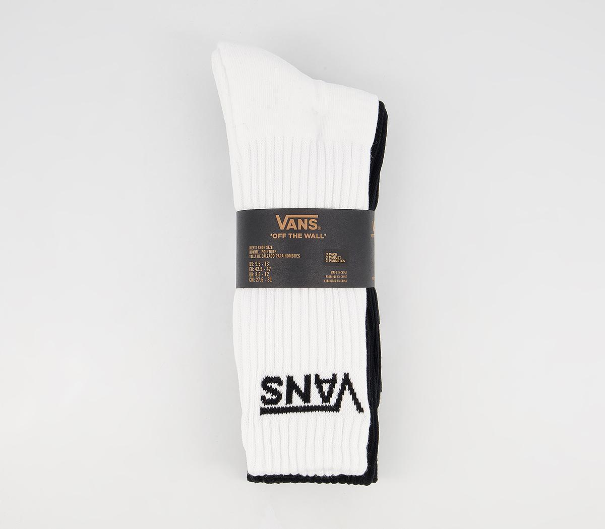Classic Crew Socks 3 Pack