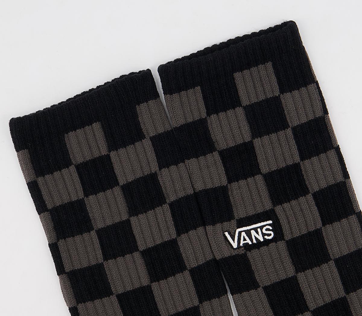 Checkerboard Crew II Sock 1 Pack