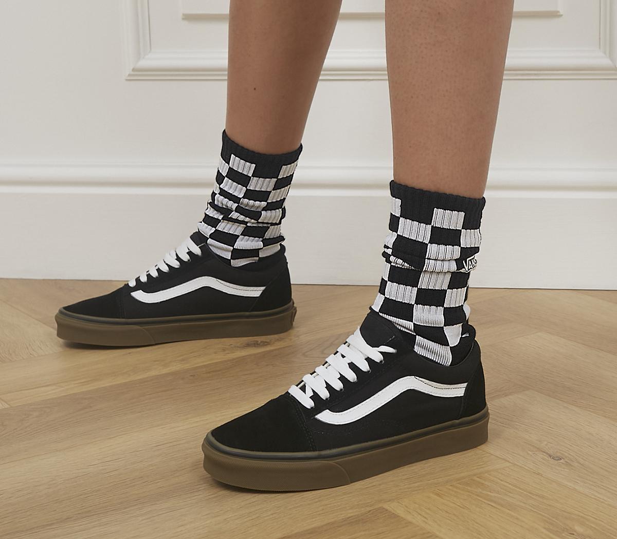 Checkerboard Crew 2 Sock 1 Pack