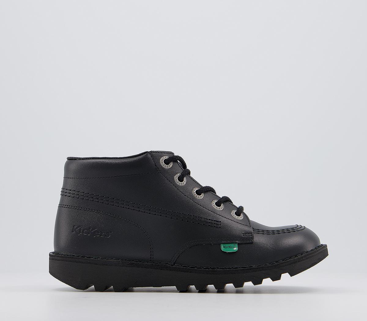 Kick Hi Leather Youth Boots