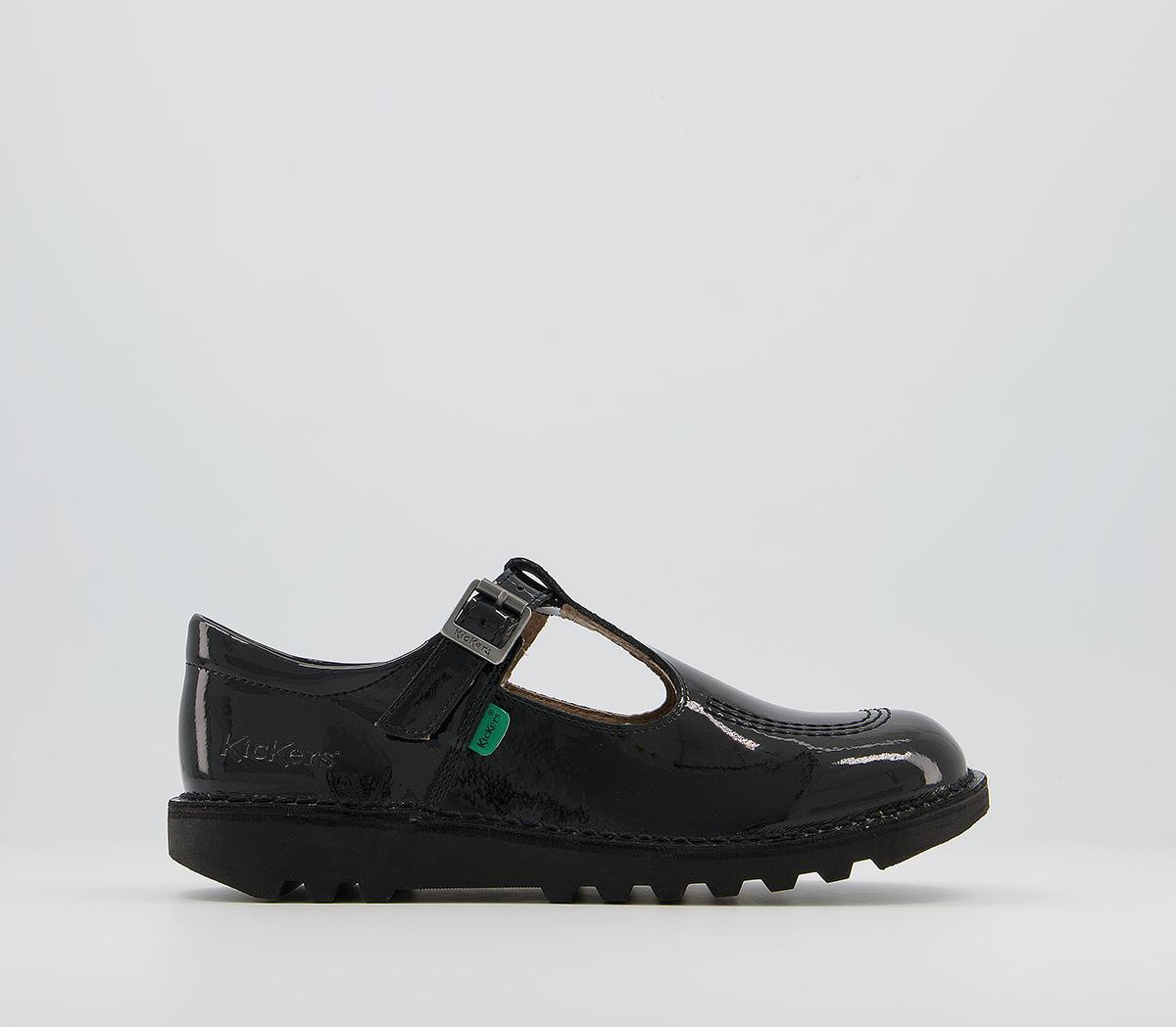 Kick T Patent Youth Shoes