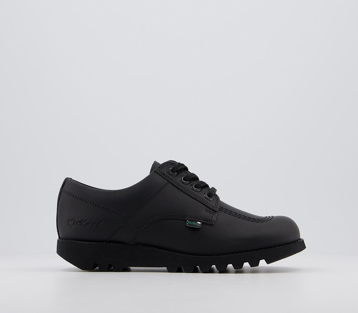 Kick Lo Leather Youth Shoes