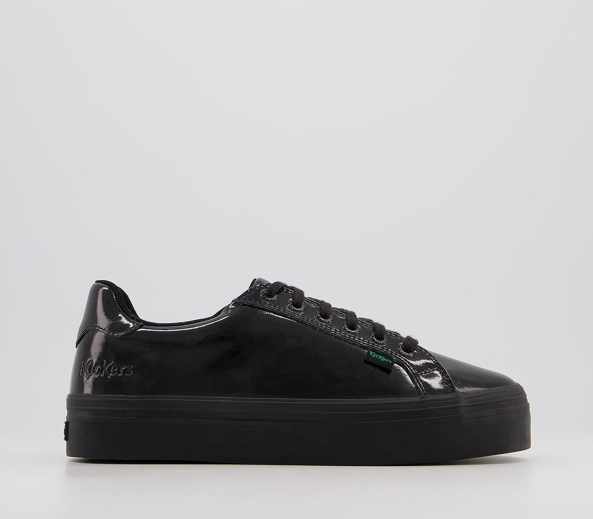 Tovni Platform Patent Shoes
